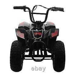 Kids Ride On Quad ATV 4 Wheeler Car Battery 12V Electric Aux In 250W 8mph 120 lb