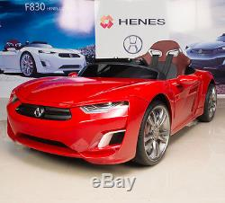 Kids Ride On Sports Car 12V Henes Broon F830 Remote Control for Children