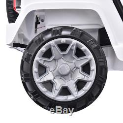 Kids Ride on Car Electric Battery Wheel Remote Control Jeep Red 12V 3 Speed USA
