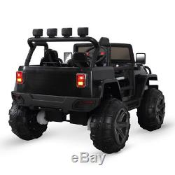 Kids Ride on Toys Car Remote Control Electric Power Wheel Jeep 3 Speeds 12V