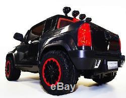 Kids ride on cars 12v Ride on Car Chevrolet style Colorado BJ1602 black Ride on