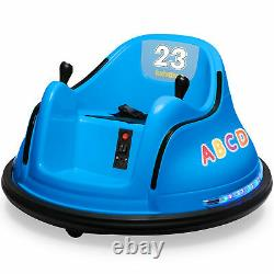 Kidzone 12V Kids Electric Ride On Bumper Car 360 Spin, ASTM-Certified, 9 Colors