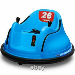 Kidzone Kids ASTM-certified Electric 6V Ride On Bumper Car With Remote Control