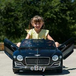 LICENSED Bentley Style Kids Electric Ride On Car Toys 12V 2.4G Remote Control