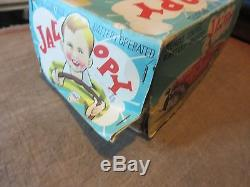 Linemar Toy Remote Control Battery Operated Jalopy