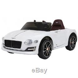 Licensed Bentley exp12, Ride On Car for Kids, LEATHER SEATS, 12 volt battery