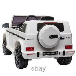 Licensed Mercedes-Benz AMG G63 Kids Ride on Car 12V Electric Motorized Vehicles