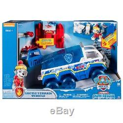 Licensed Paw Patrol Snow Rescue Arctic Terrain Vehicle Christmas Birthday Gift