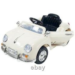 Lil Rider 58 Speedster Vintage Classic Battery Operated Sports Car with Remote