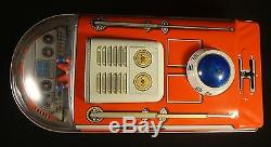 Lunar Expedition Vintage Tin Battery Operated Space Ship Box Modern Toy s