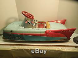MARX Electra-Matic battery operated ride on toy car