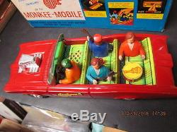 Monkee Mobile 1967 In Box N Mint Works Battery & Friction Monkees Car