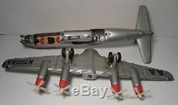 Marx Line-mar American Airlines Electra Dc7 Battery Operated Airplane