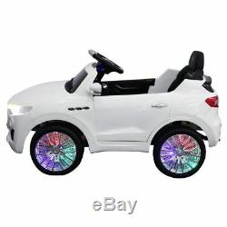 Maserati Style 6V Kids Ride On Car Electric Power Wheels Remote Control White