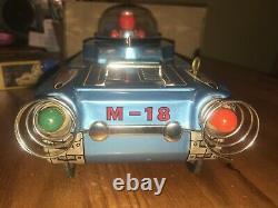 Masudaya Space Tank vintage M-18 collectible