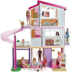 Mattel Barbie Dollhouse with Pool, Slide and Elevator New Toy Toy