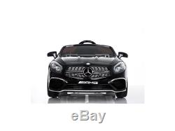 Mercedes Amg Sl65 Ride On Car Kids Mp4 Touch Screen Remote Control Electric