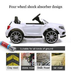 Mercedes Benz 6V Electric Kids Ride On Car Licensed MP3 RC Remote Control White