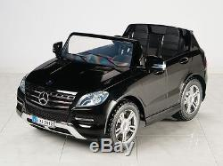 Mercedes-Benz ML350 12V Kids Ride On Car Battery Power Wheels Toy + RC Remote