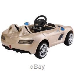 Mercedes Benz Z199 12V Electric Kids Ride On Car Licensed MP3 RC Remote Control