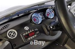 Mercedes CLA45 12V Kids Ride-On Car with R/C Parental Remote Gray Metallic