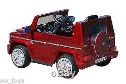 Mercedes G65 12v Battery Powered Electric Ride On 2-3 years Kids Toy Car Remote