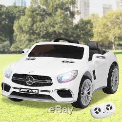 Mercedes SL65 Electric 12V Kids Ride on Toy Rocking Car Remote Control MP3 Radio