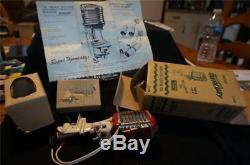Mint NOS 1957 K+O Mercury Mark 75 60hp Battery Operated Outboard Motor, No Res