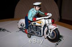 Modern Toys Japan Police Motorcycle Action Toy Battery Operated. Must See @@