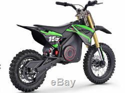 MotoTec 1000w 36v Pro Electric Dirt Bike Lithium Battery