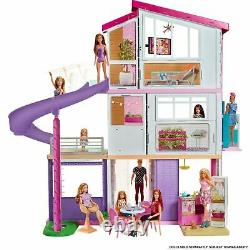 NEW Barbie Estate DreamHouse Doll House Playset with 70+ Toys Accessories