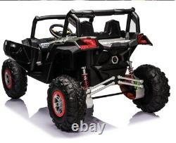 NEW Giant UTV Touch TV 24 Volt 200W Motor Ride on Remote Toy Rzr Polaris Rubber