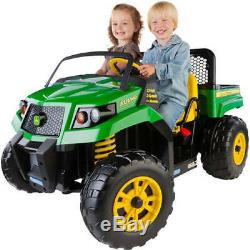NEW Peg Perego John Deere Gator XUV 12-volt Battery-Powered Ride-On Vehicle Kid