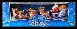 New Christmas 2002 Rudolph Island of Misfit Toys SANTAS SLEIGH Memory Lane MIB