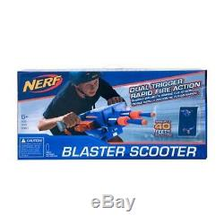 New NERF Rapid Fire Blaster Scooter With Battery Operated Rapid Fire Technology