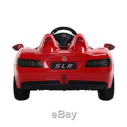 New Red Mercedes Benz 12V Kids Ride On Toy Car Electric RC Remote Control MP3