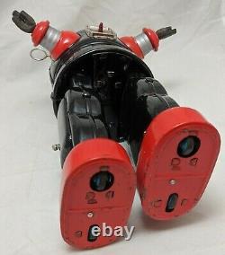 Nomura MECHANIZED ROBBY THE ROBOT Tin Battery Operated TN Japan 1950 13