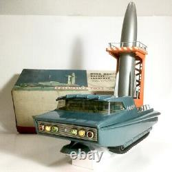 OLD Bandai Moon Mobile Rocket Launcher Excluve Toy Battery Operated 1960s C1
