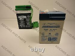 Peg Perego Replacement Battery Thomas The Train New