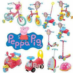 Peppa Pig Scooters, Bikes, Helmets, Trikes and more! Ride with Peppa Pig