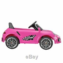 Pink 6V Kids Ride On Car withMP3 Electric Battery Power 2 Motor Remote Control