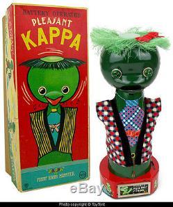 Pleasant Kappa battery operated toy river monster Asakusa Japan & original box