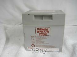 Power Wheels 12V 12 Volt Dune Racer Battery Grey 1 year Warranty Fisher Price