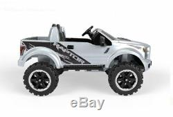 Power Wheels Kids Ride on Toy Ford F-150 Raptor Battery Powered Electric Car 12V