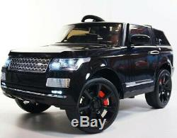 RANGE ROVER, ROV SC6628 Electric Ride On Car Toy For Kids, Black