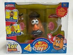 RARE Thinkway PlaySkool Toy Story Animated Talking Mr. Potato Head Popping Parts