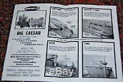 REMCO BIG CAESAR & Roman Legions Complete Working- withall Parts Accessories