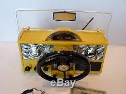 REMCO FIREBIRD 99 SPORTS CAR DRIVING TOY DASHBOARD BATTERY OPERATED WithBOX WithKEY