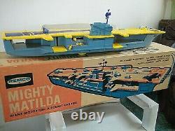 REMCO Mighty Matilda Aircraft Carrier with Original Box