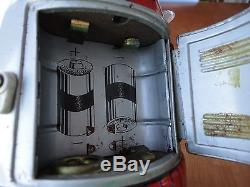 Rare 1960's All Original Japanese Battery Operated MR. ATOMIC Robot by YONEZAWA